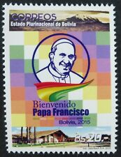 Bolivien Bolivia 2015 Papst Franziskus Besuch Pope Francis Visit Postfrisch MNH