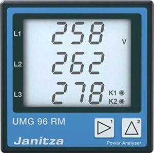 Janitza UMG96RM Netzanalysator UMG96RM, Modbus RTU