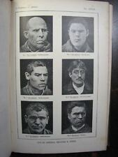 1896 Human Delinquents, Freaks, Criminals, Anarchists, ILLUSTRATED