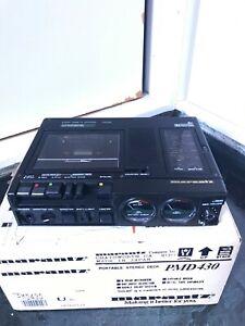 Marantz PMD430 3 Head Stereo Professional Cassette Recorder, Black