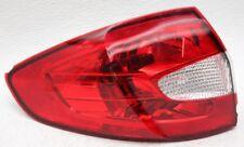 OEM Ford Fiesta Sedan Left Driver Side Halogen Tail Lamp Lens Chips BE8Z13405A