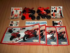 DUCATI MOTORCYCLES COMPLETE SET WITH ALL PAPERS KINDER SURPRISE 2014