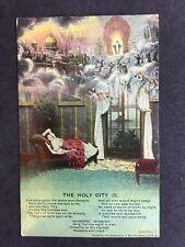 Vintage Postcard - Bamforth Song Card #41 - The Holy City (3)