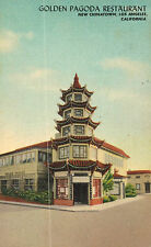Los Angeles,CA.New China Town,The Golden Pagoda Chinese Restaurant,c.1940s