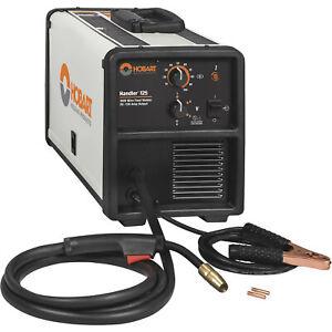 Hobart Handler 125 Flux-Cored/MIG-Ready Welder- Transformer 120V 25-130A Output