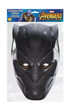 Black Panther Marvel Infinity War Mask Single 2D Card Party Face Mask