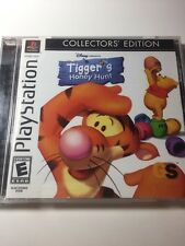 Winnie Pooh Disney Tigger's Honey Hunt Sony PlayStation 1, 2000 PS1 complete CIB