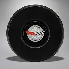 1978 Corvette 25th Anniv Horn Button Assembly Retainer & Emblem 3 Pieces 647614