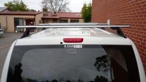 Hyundai Iload Roof Racks 3 Bar, 02/2008-onwards models