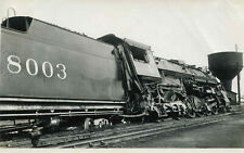 OH081 RP 1941 DERAILED BY CINDERS ILLINOIS CENTRAL RR 284 LOCO #8003 JACKSON MS