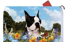 Boston Terrier Decorative Mail Box Cover