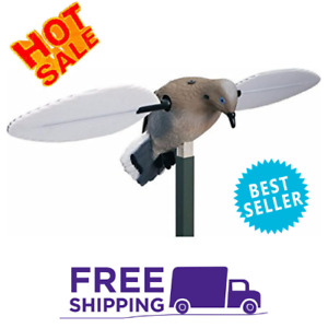 NEW MOJO OUTDOORS Voodoo Dove Decoy Motorized Motion PING Electric Wings ...
