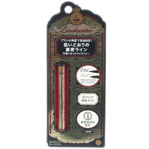 Shiseido Japan Majolica Majorca MJ Linehunter Liquid Eyeliner [BK-999 Black]