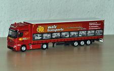 "Herpa - MB Actros GiSp Megatrailer ""Walz Transporte / Rechberghausen"" Nr. 921794"