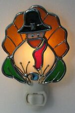 Stained Glass Turkey Night Light