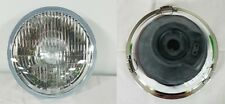 ford escort mk2 1975 to 1980 headlight offside r/h + nearside l/h round oem/oes