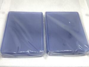 "20pcs 3""x4"" Super Thick Toploader Card Protector Hard Sleeves 75PT"