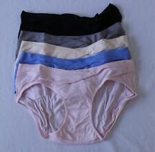 Kindred Bravely Women's 5 Pack Under-The-Bump Bikini Panties SV3 Multi-Color Med