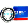 SKF 6000 - 6009 2RS Series Rubber Sealed Genuine SKF Ball Bearings