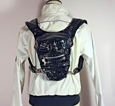Authentic Belstaff Lady Embossed Patent Backpack Bag