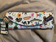 New Jansport Digital Burrito Roll Up Electronics Organizer Pencil Pouch
