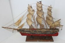 Antique Wood 1869 Cutty Sark Ships Model