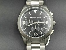 New Michael Kors Men's Gareth Silver Stainless Steel Watch MK8469 -BBL360