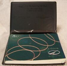 **LOOK** 1997 Oldsmobile Achieva Owners Manual Set 96