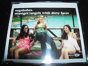 Sugababes Stronger / Angels With Dirty Faces Australian CD Single