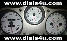 FIAT BARCHETTA (1995-2005) - 140mph - WHITE DIAL KIT