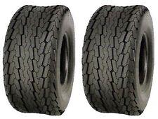 (TWO) 20.5x8-10 20.5x8.0-10 PONTOON BOAT 6 PR Load C Heavy Duty Trailer Tire