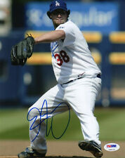 ERIC GAGNE SIGNED AUTOGRAPHED 8x10 PHOTO LOS ANGELES DODGERS PSA/DNA