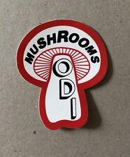 ODI MUSHROOM Grips sticker RARE OLD SCHOOL BMX MONGOOSE REDLINE SKYWAY SE RACING