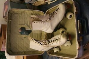 Vintage hyde roller skates Women's Size 7 with Sure Grip Whells