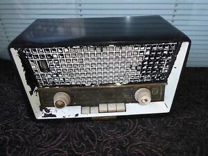Philips Philetta deluxe Röhrenradio Radio antik alt tube radio Ersatzteilespende