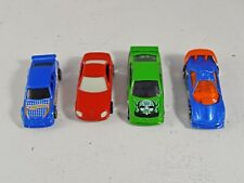 4x Hot Wheels Die Cast Toy Cars - Mercedes SLK, Callaway C7, Commodore