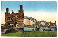 AK, Hamburg, Neue Elbebrücke, ca. 1918