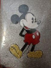 Papyrus Glittered Mickey Mouse Blank Card