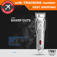 Kemei KM-1997 1996 Barber Hair Clipper Professional Cordless Trimmer Electric