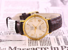 Poljot De Luxe automatic USSR gold plated AU20 watch, 29 Jewels. Export version!