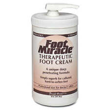 FOOT MIRACLE THERAPEUTIC FOOT CREAM 32 OZ