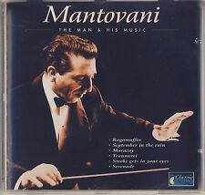 Mantovani: The Man & His Music (Classic Options) Like New
