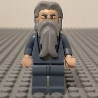 LEGO Harry Potter Dumbledore Minifigure Sand Blue Fron Hogwarts 4842 - hp099