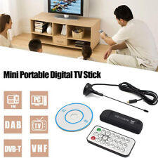 DVB-T SDR+DAB+FM USB 2.0 Dongle Digital TV Tuner RTL2832U+R820T Stick Receiver