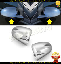 CHROME MIRROR COVERS FOR 2007 2008 2009 2010 DODGE CALIBER OVERLAYS TRIMS