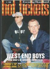 PETSHOP BOYS interview WEST END BOYS UKmag LONDON ONLY 2000
