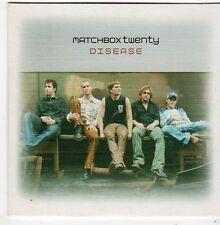 (FJ79) Matchbox Twenty, Disease - 2003 DJ CD
