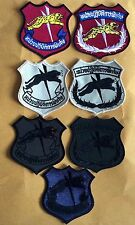 7 Thai Special Force Border Patrol police patches