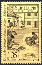 SAINT LUCIA - 1984 - Abolition of Slavery, 150th Anniversary - MNH - Scott #707