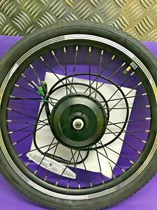 "SHENGYI MOTOR 250w High Speed Front Wheel 20"" 24V 250W Hub Motor Black"